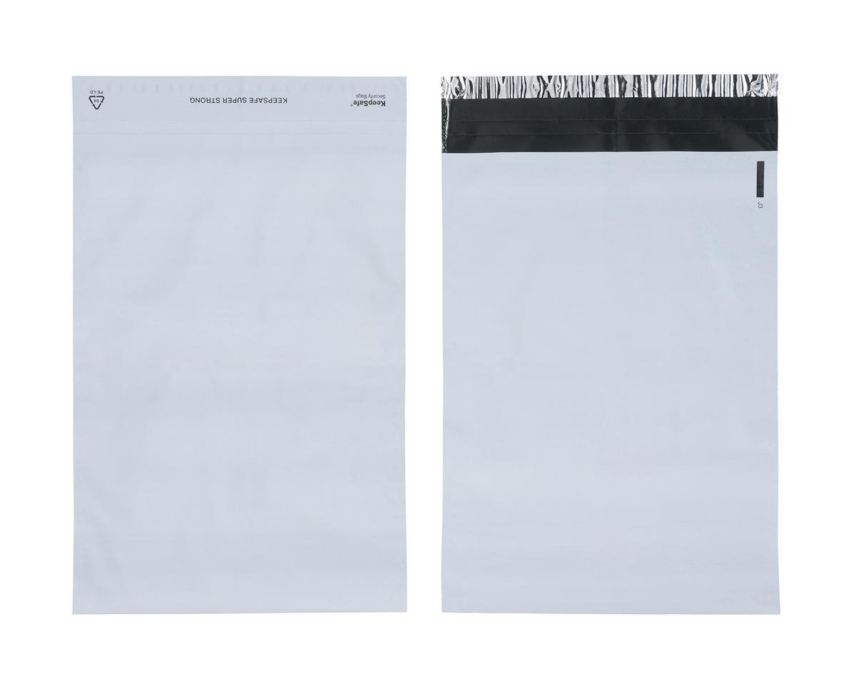 Image for Keepsafe SuperStrong Envelope Polythene Opaque C4 W230xH320mm Peel & Seal Ref KSV-SS2 [Pack 100]