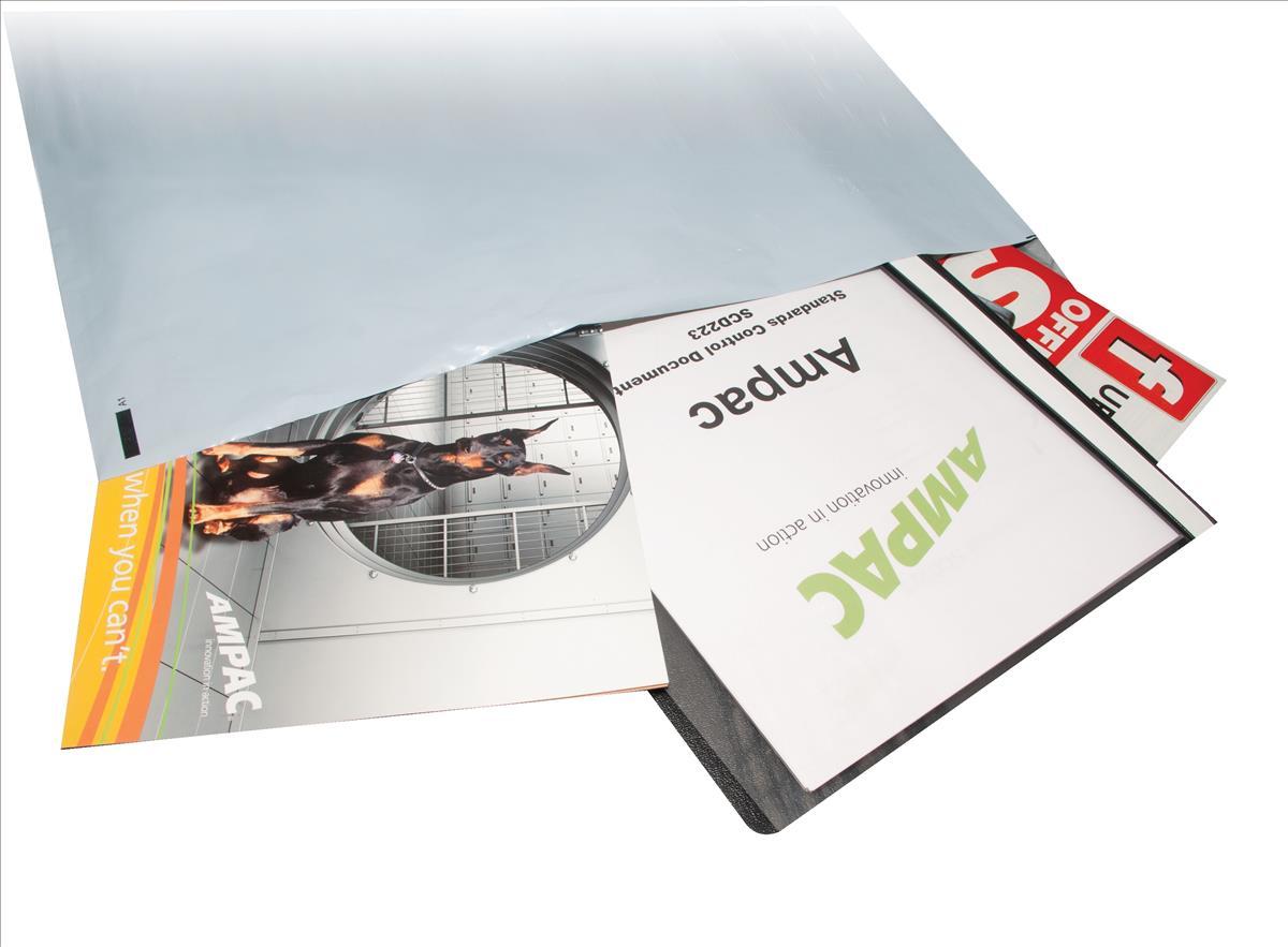 Keepsafe Envelope Extra Strong Polythene Opaque W600xH700mm Peel & Seal Ref KSV-MO8 [Box 50]