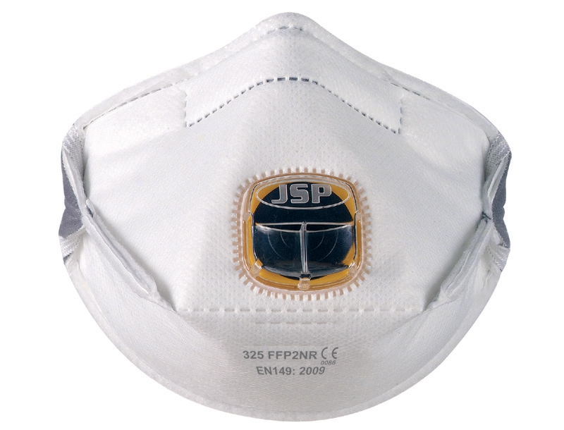 Typhoon 325 Mask FFP2 Fold-flat Typhoon-valve System Adjustable Strap Ref BEY120-201-AG1 [Pack 10]