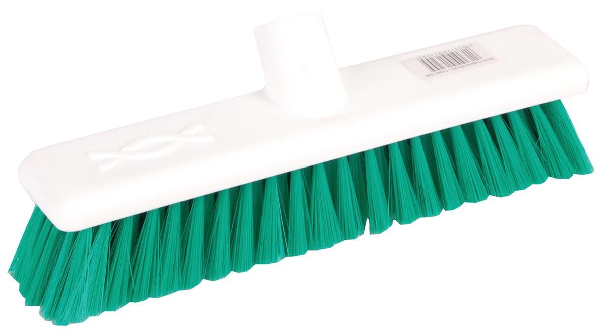 Robert Scott & Sons Abbey Hygiene Broom Head Soft Washable 12in Green Ref 102910GREEN