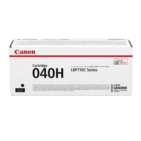 Canon 040H Laser Toner Cartridge High Yield Page Life 12500pp Black Ref 0461C001