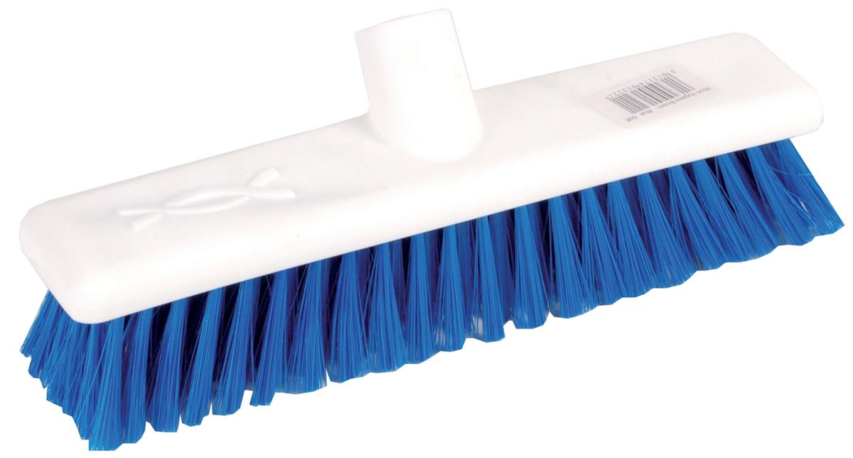 Robert Scott & Sons Abbey Hygiene Broom Head Soft Washable 12in Blue Ref 102910BLUE