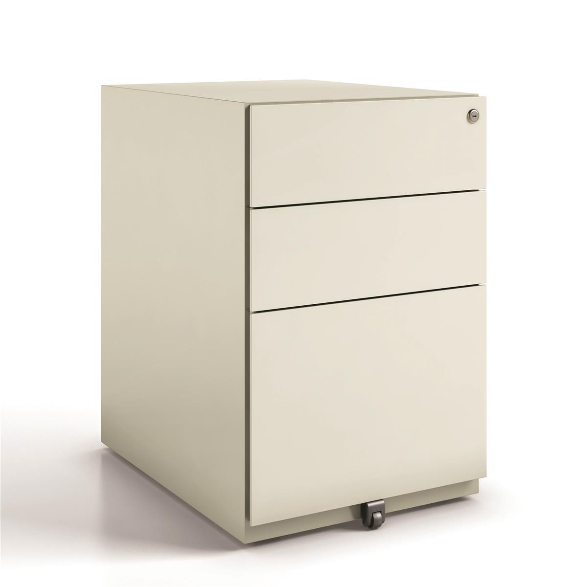 Image for Bisley Tall Mobile Pedestal Under Desk Three Drawer