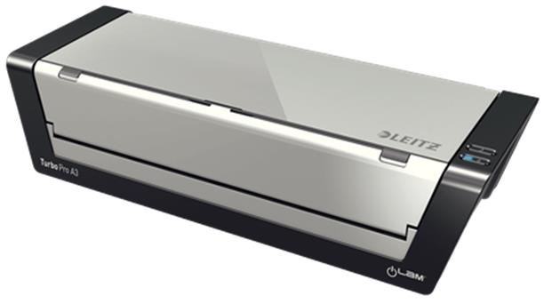 Leitz iLam Touch 2 Series Laminator Up To 250 Microns Easy Feed A3 Grey Ref 75191000
