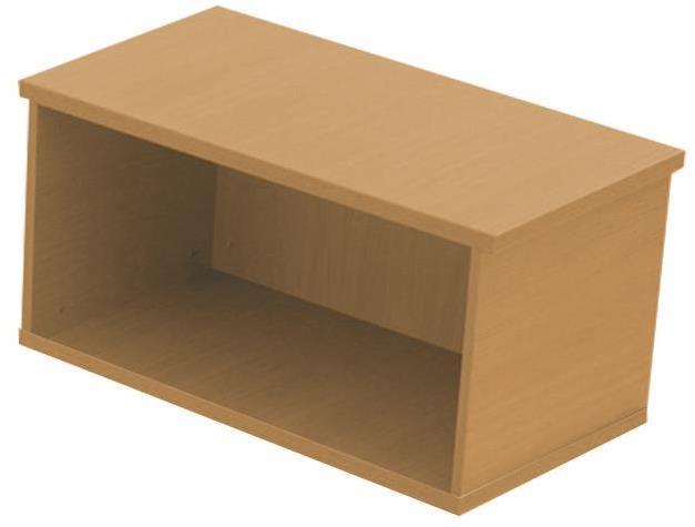Image for Sonix Desk Top Storage Box Rich Beech