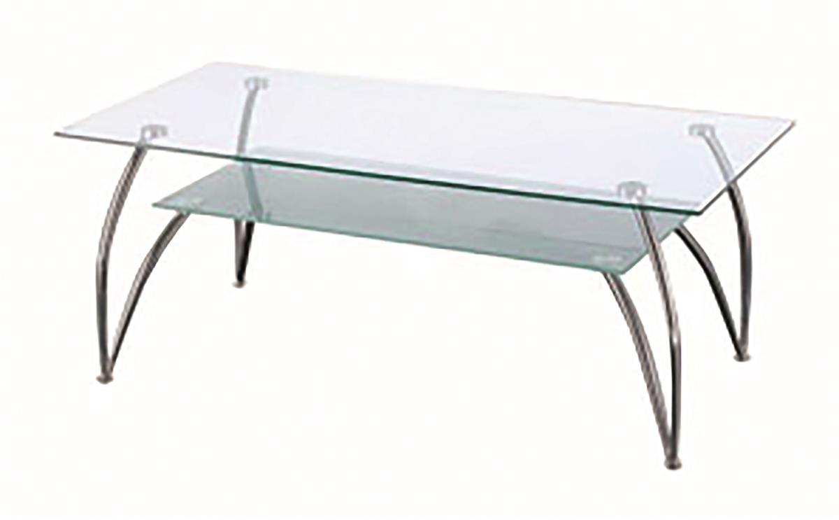 Image for Sonix Glass Table Rectangular 1200mm