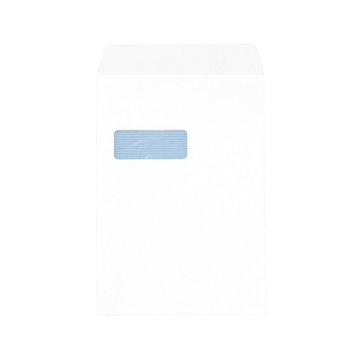 Premium Envelopes 5 Star Office Envelopes PEFC Pocket Peel & Seal Window 100gsm C4 324x229mm White Pack 250