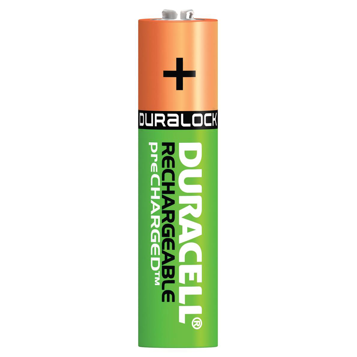 Duracell Stay Charged Battery Long-life Rechargeable 800mAh AAA Size 1.2V Ref 81364755 [Pack 4]