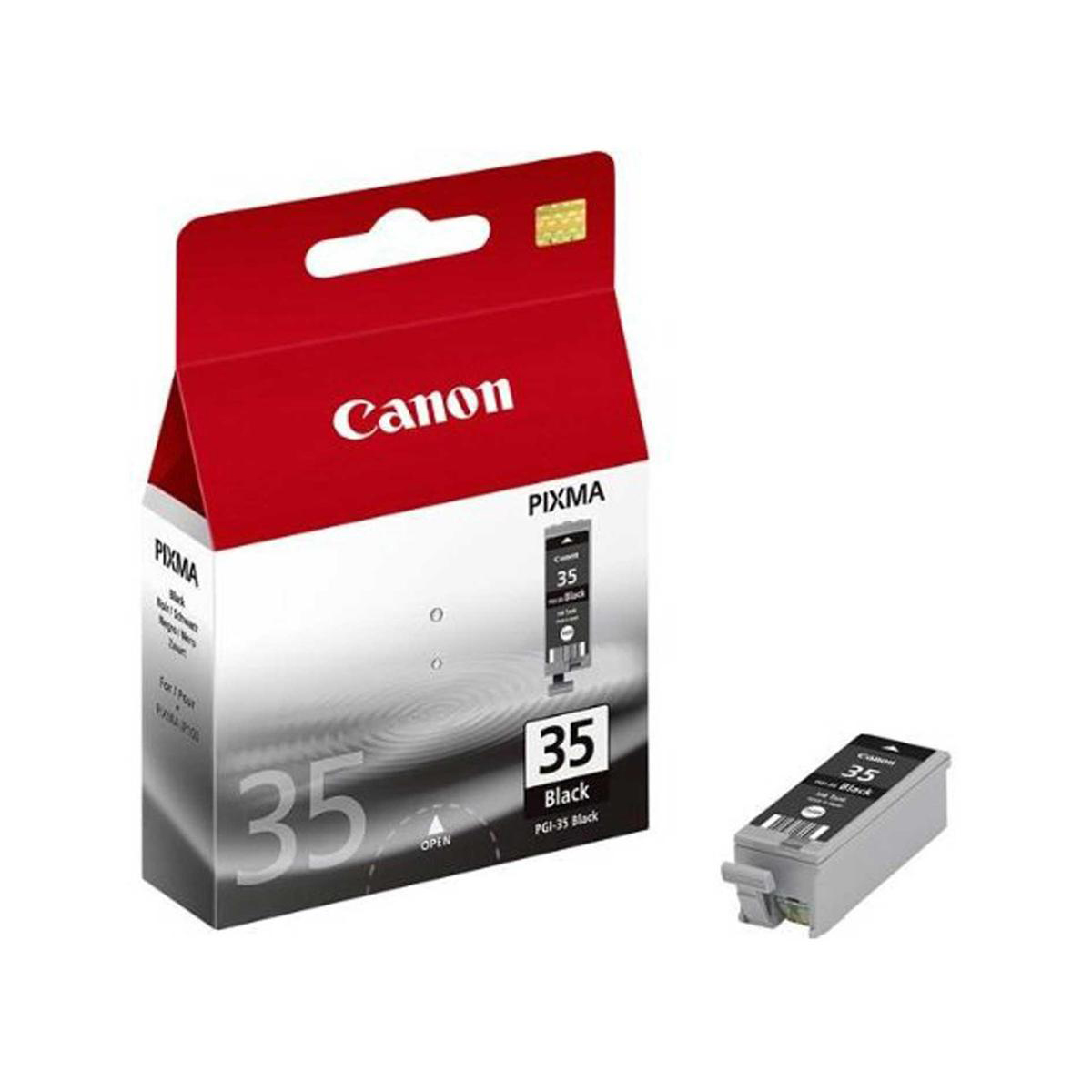Canon PGI-35 Inkjet Cartridge Page Life 191pp 9.3ml Black Ref 1509B001