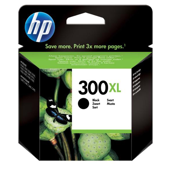 Hewlett Packard [HP] No. 300XL Inkjet Cartridge Page Life 600pp Black Ref CC641EE