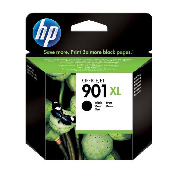 Hewlett Packard [HP] No. 901XL Inkjet Cartridge Page Life 700pp Black Ref CC654AE
