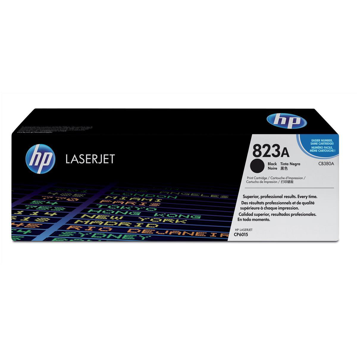 HP 823A Laser Toner Cartridge Page Life 16500pp Black Ref CB380A