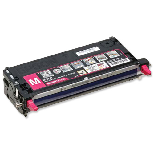 Epson S051159 Laser Toner Cartridge High Capacity Page Life 6000pp Magenta Ref C13S051159