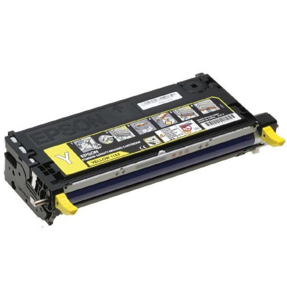 Epson S051162 Laser Toner Cartridge Page Life 2000pp Yellow Ref C13S051162