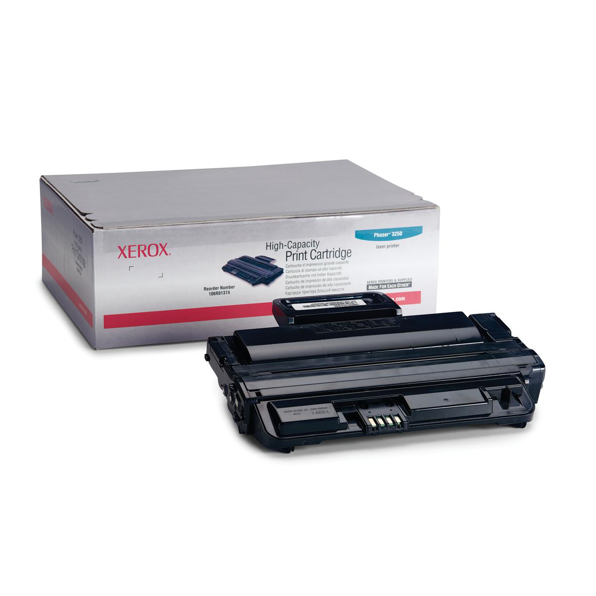 Laser Toner Cartridges Xerox Phaser 3250 Laser Toner Cartridge Page Life 5000pp Black Ref 106R01374