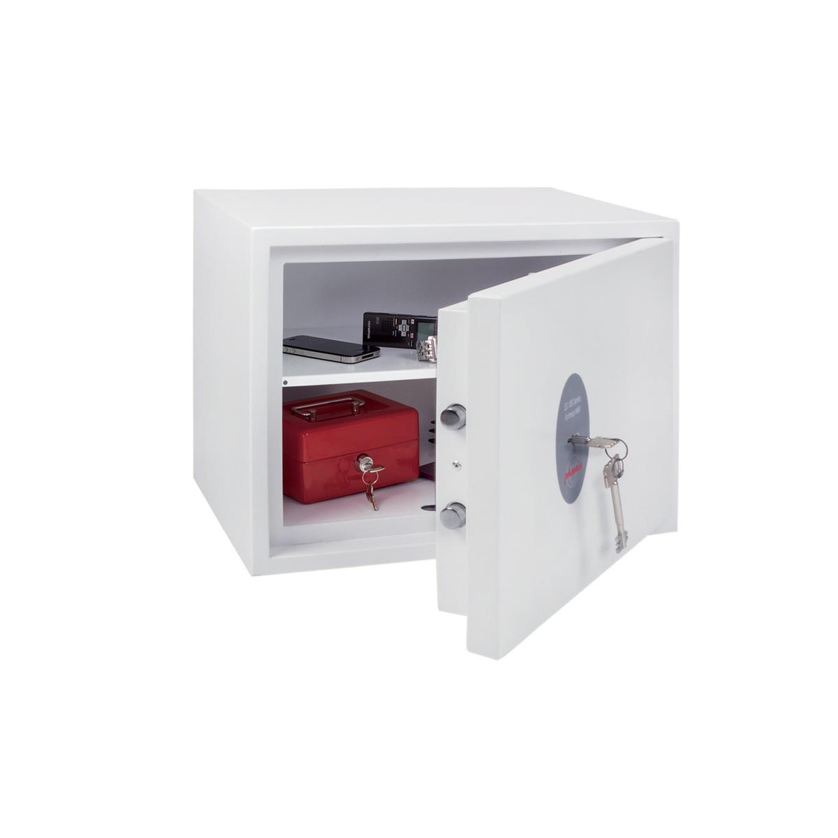 Safes Phoenix Fortress High Security Safe Key Lock 24L Capacity 25kg W450xD350xH350mm Ref SS1182K