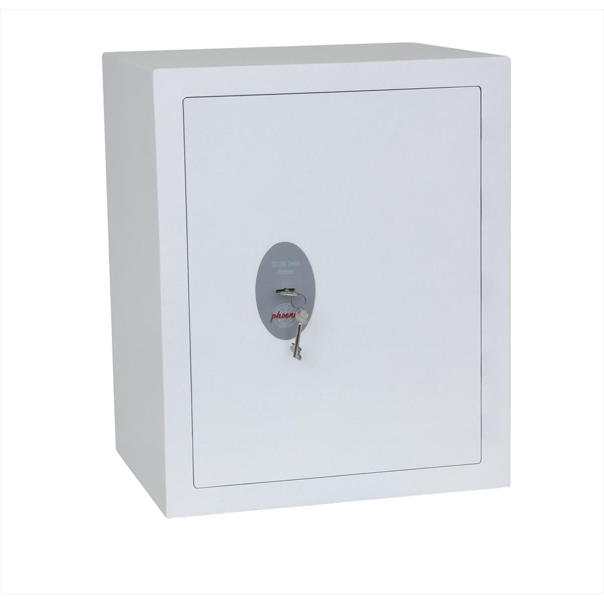 Phoenix Fortress High Security Safe Key Lock 42L Capacity 37kg W450xD350xH550mm Ref SS1183K
