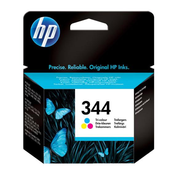 Hewlett Packard [HP] No. 344 Inkjet Cartridge Page Life 450pp Colour Ref C9363EE-abb