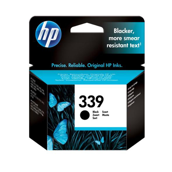 Hewlett Packard [HP] No.339 Inkjet Cartridge Page Life 860pp 21ml Black Ref C8767EE