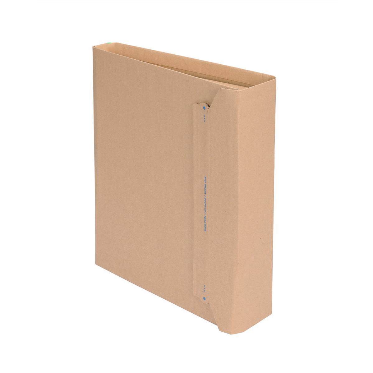 Packaging boxes Filepac Lever Arch File Mailer Internal W320xD35-80xH290mm Brown Pack 20