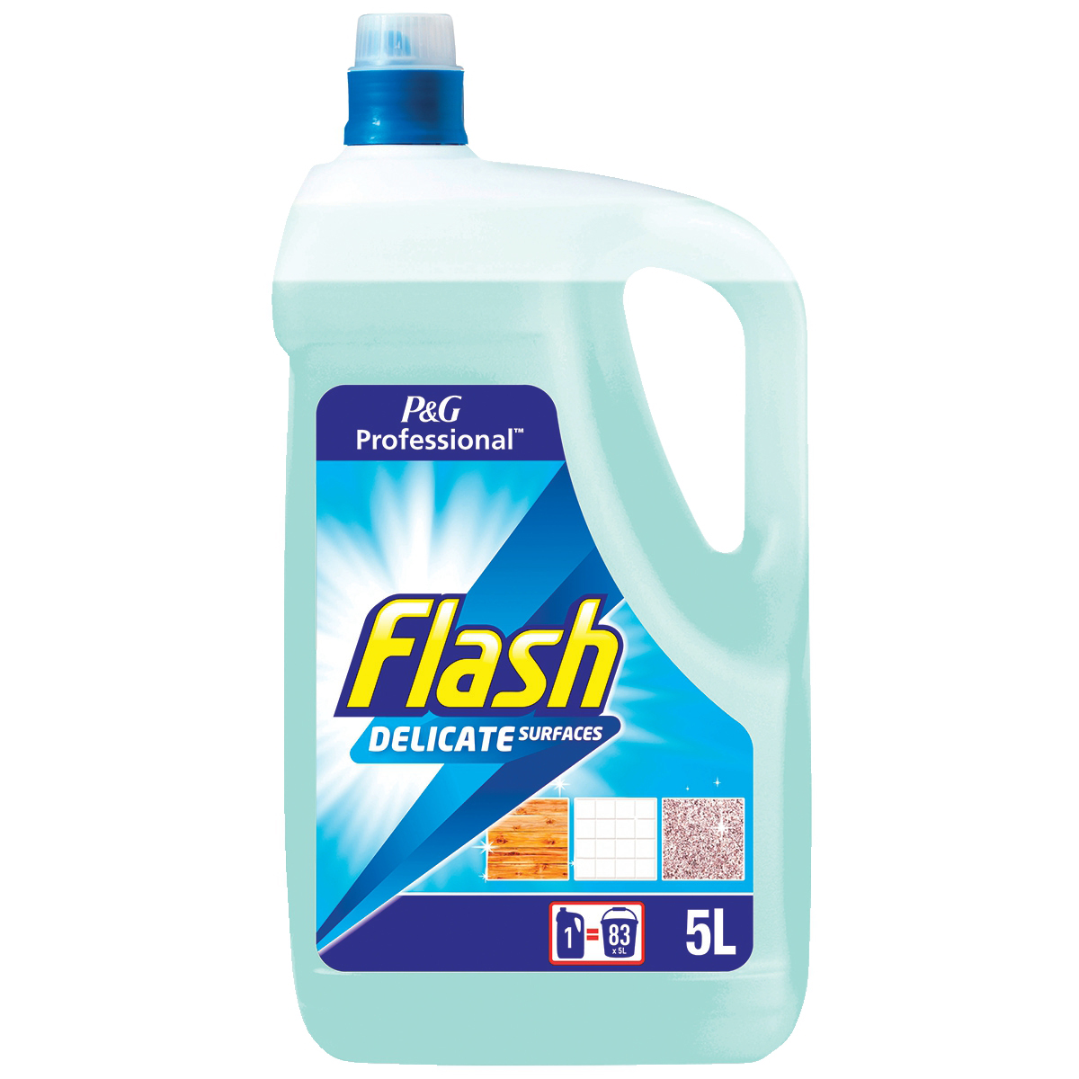 Flash Floor Cleaner for Granite Marble and All Washable Surfaces 5 Litres Ref N05838
