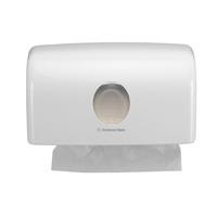 Kimberly Clark AQUARIUS C-Fold Hand Towel Dispenser W287xD142xH159mm Plastic White Ref 6956
