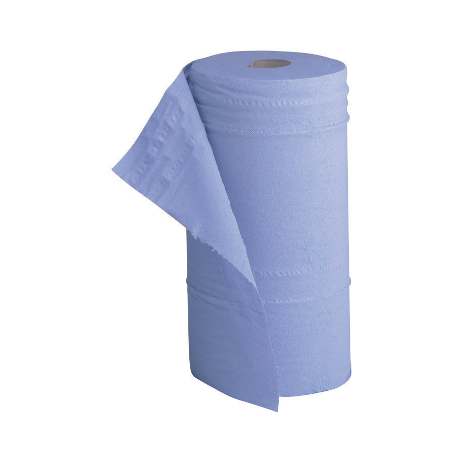 Hand Towels & Dispensers 5 Star Facilities Hygiene Roll 10 Inch Width 100 Percent Recycled 2-ply 130 Sheets W250xL457mm 40m Blue