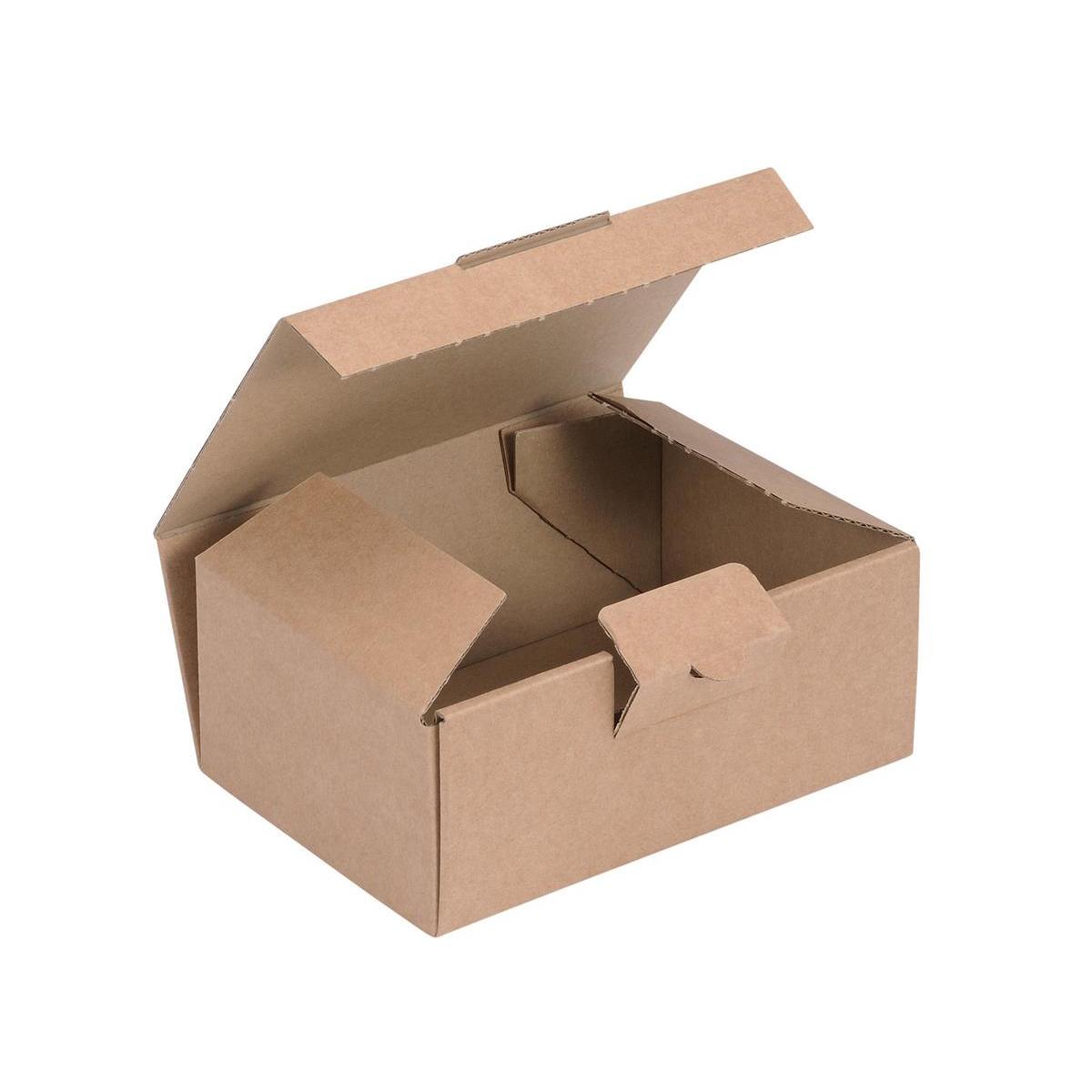Packaging boxes Easi Mailer Kraft Mailing Box W160xD110xH64mm Brown Pack 20