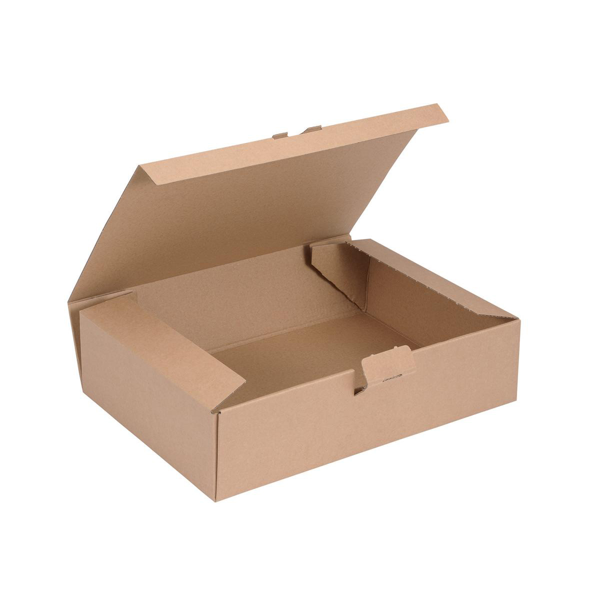Image for Easi Mailer Kraft Mailing Box W305xD215xH80mm Brown [Pack 20]