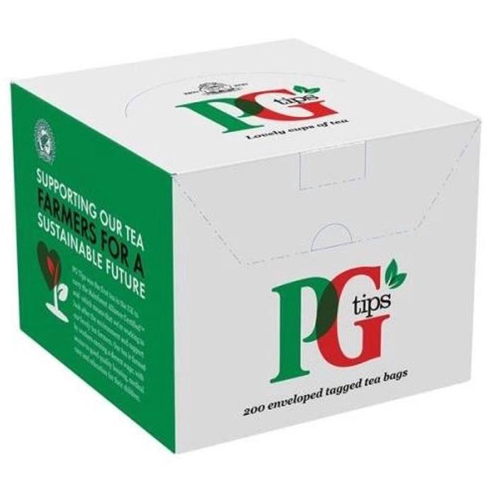 PG Tips Tea Bags Envelopes Ref 1845 Pack 200