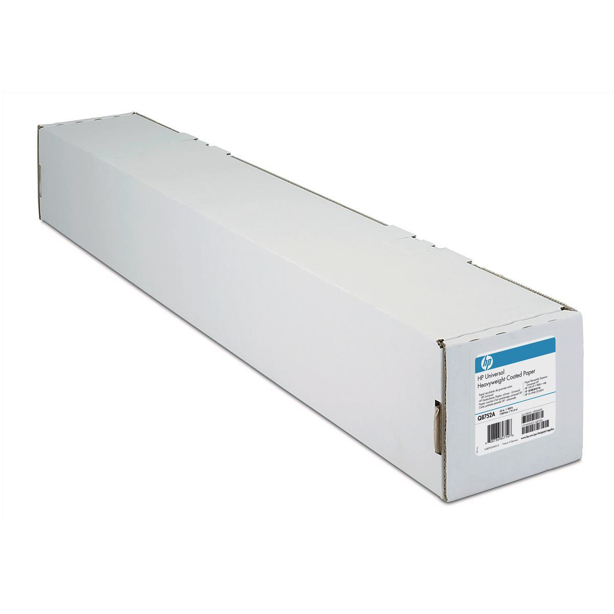 Other Sizes Hewlett Packard [HP] Coated Paper Roll 90gsm 841mm x 45.7m White Ref Q1441A