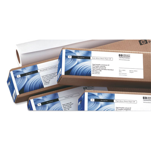 Hewlett Packard [HP] Universal High Gloss Paper Roll 190gsm 610mm x 30.5m White Ref Q1426A/B