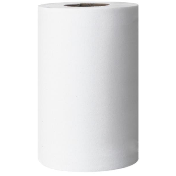 Hand Towels & Dispensers Tork Reflex Mini Wiper Roll 2-Ply 200 Sheets White Ref 473474 Pack 9