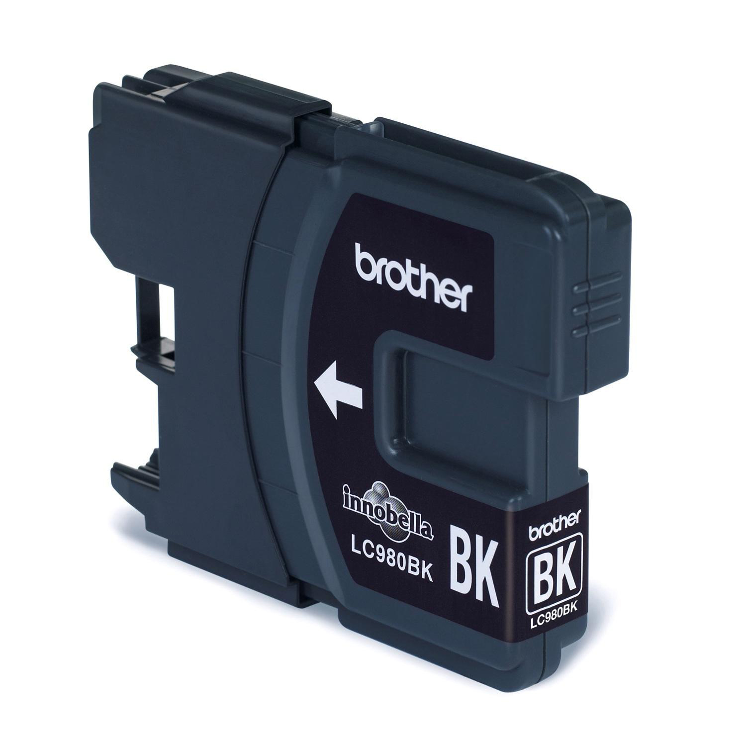 Brother Inkjet Cartridge Page Life 300pp Black Ref LC980BK