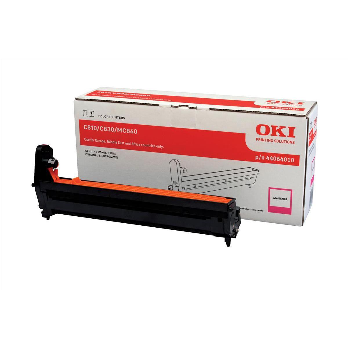 Drum Units OKI Laser Drum Unit Page Life 20000pp Magenta Ref 44064010