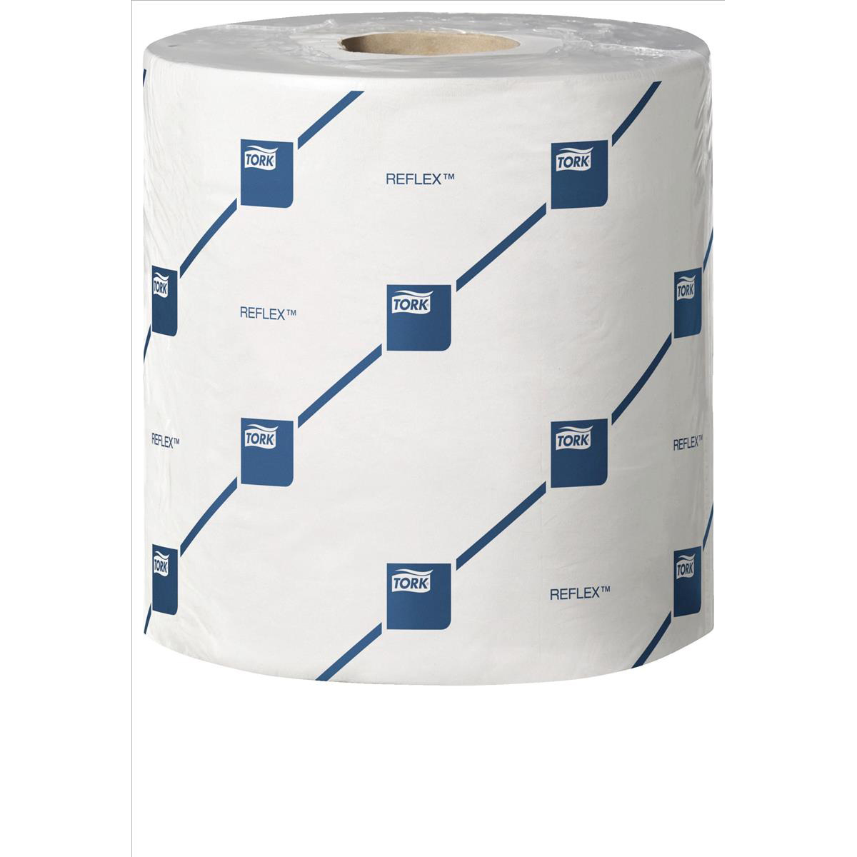 Tork Reflex Wiper Roll 2-Ply 429 Sheets of 194x150mm White Ref 473264 [Pack 6]