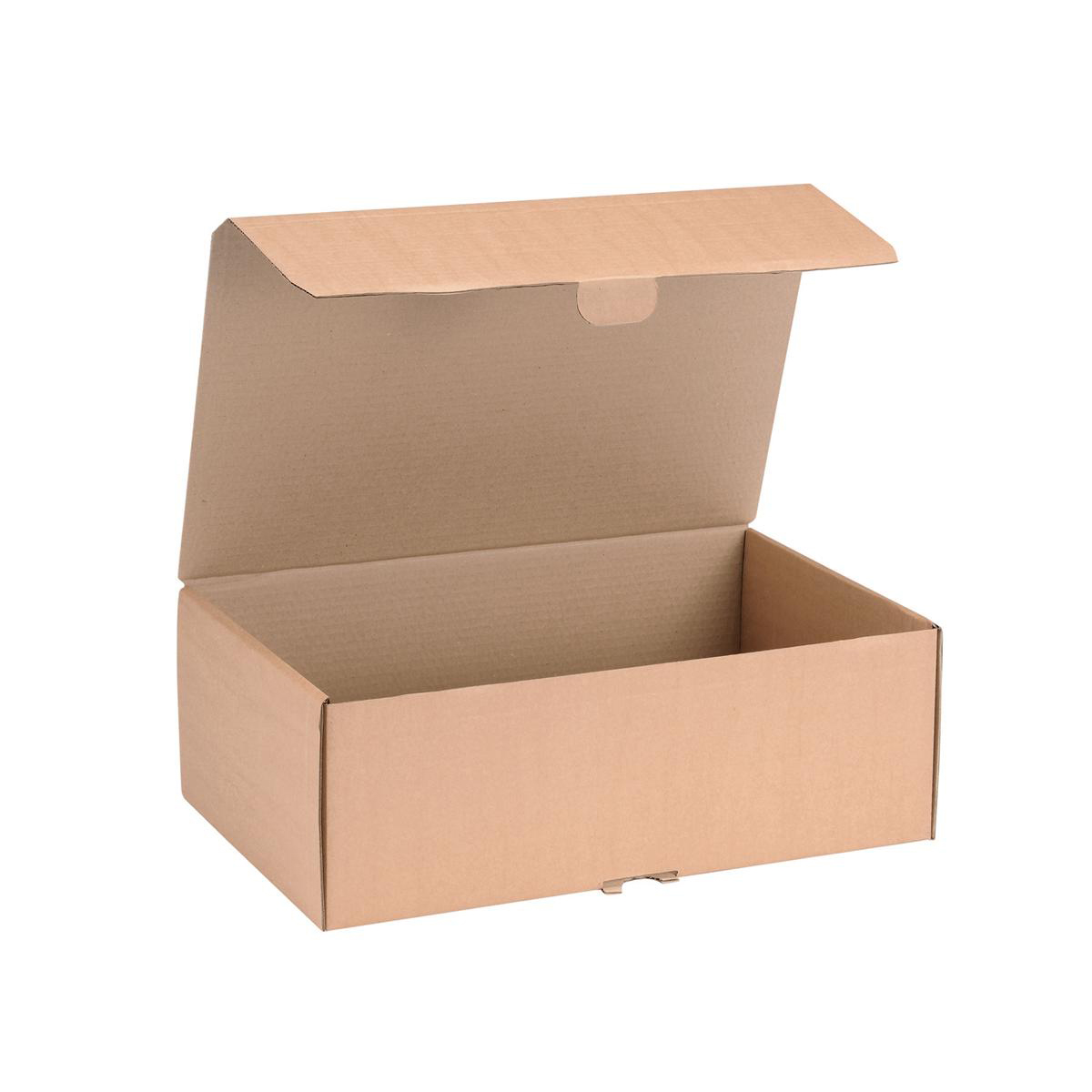 Boxes Mailing Carton Easy Assemble L 395x255x140mm Brown Pack 20
