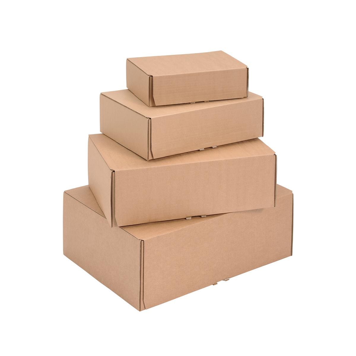 Mailing Carton Easy Assemble L 395x255x140mm Brown Pack 20