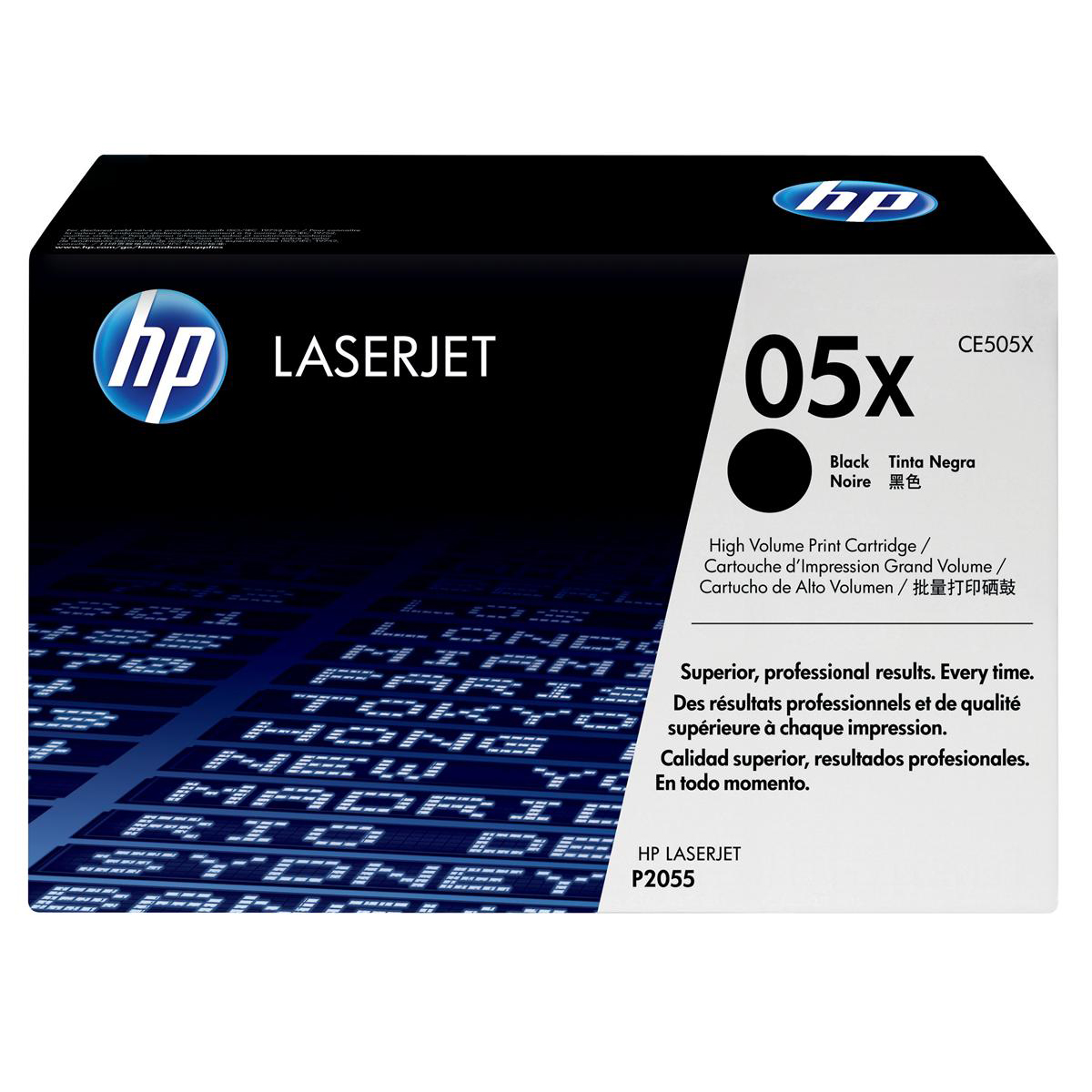 HP 05X Laser Toner Cartridge High Yield Page Life 6500pp Black Ref CE505X
