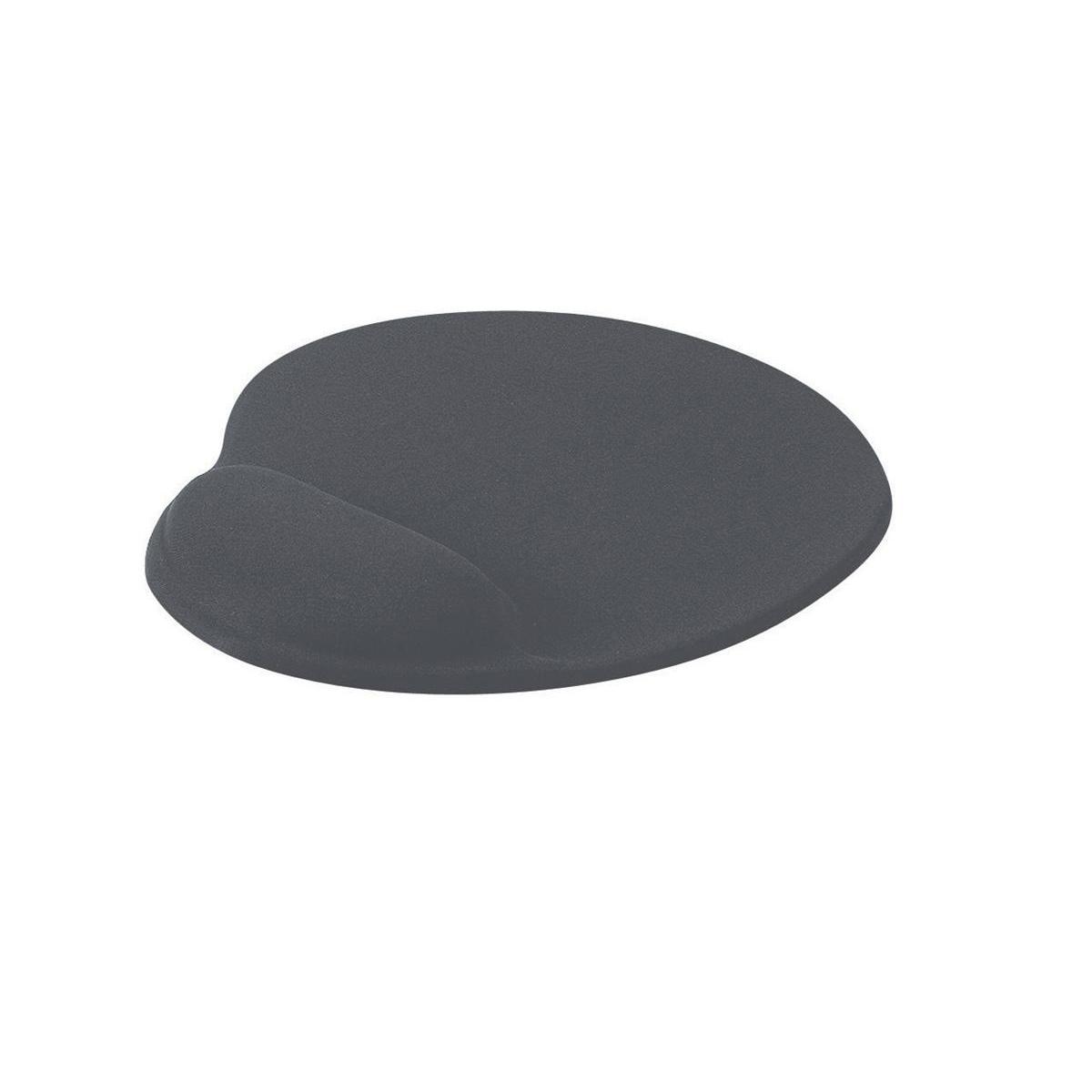 Mouse Mats Mouse Mat Ergonomic Non Slip with Gel Wrist Rest Charcoal