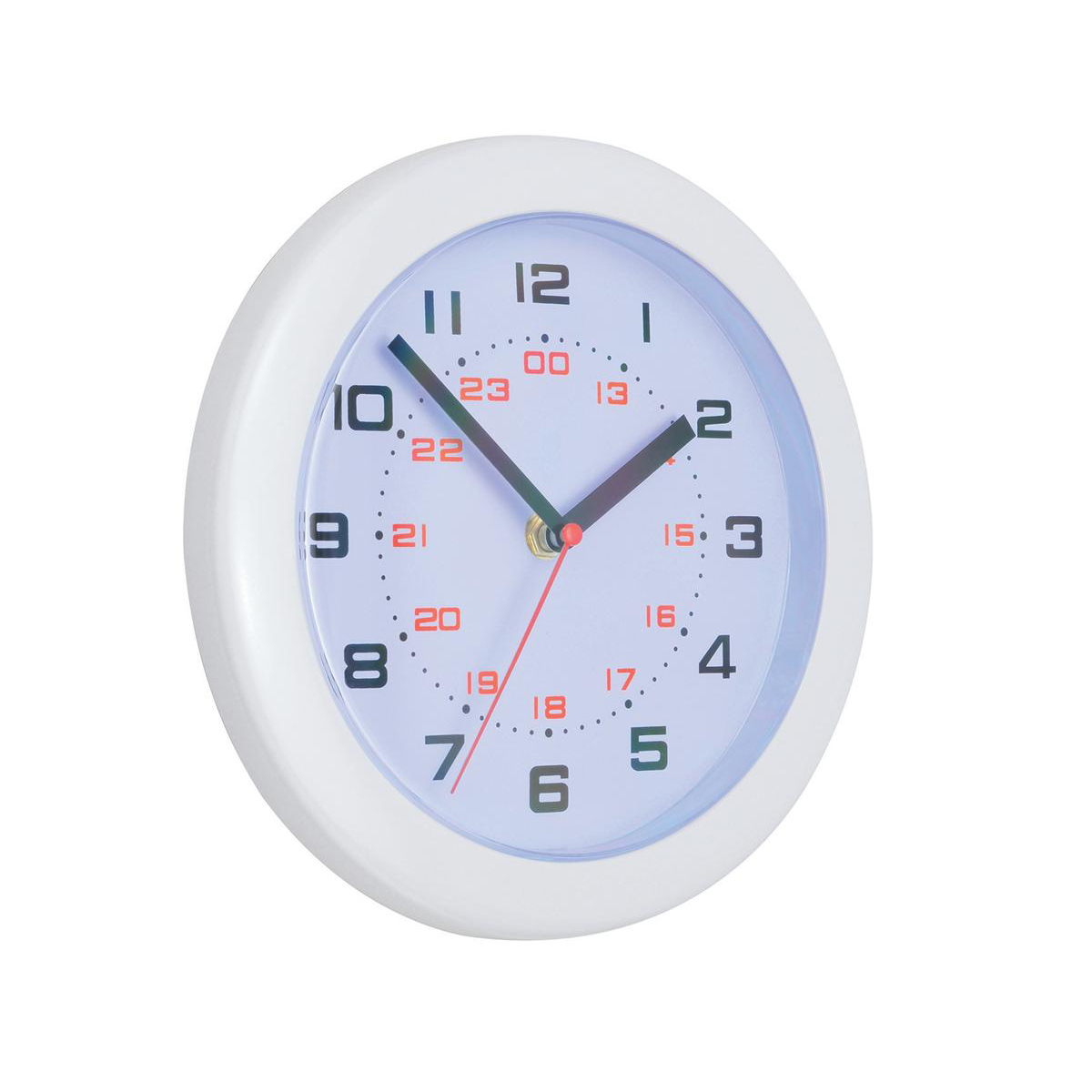 Image for 5 Star Facilities Controller Wall Clock Diameter 250mm White