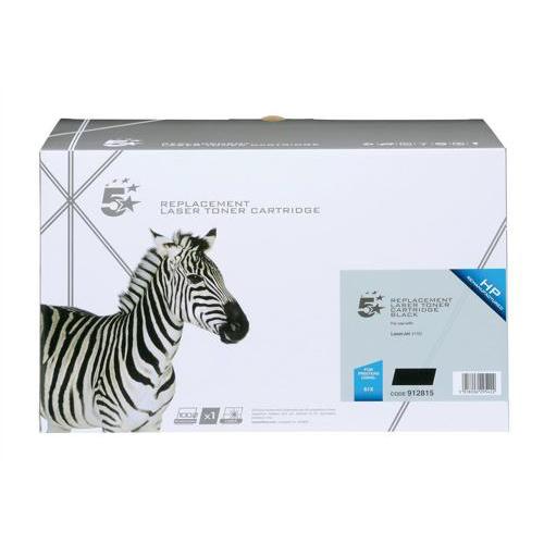 5 Star Office Remanufactured Laser Toner Cartridge Page Life 10,000pp Black [HP 61X C8061X Alternative]