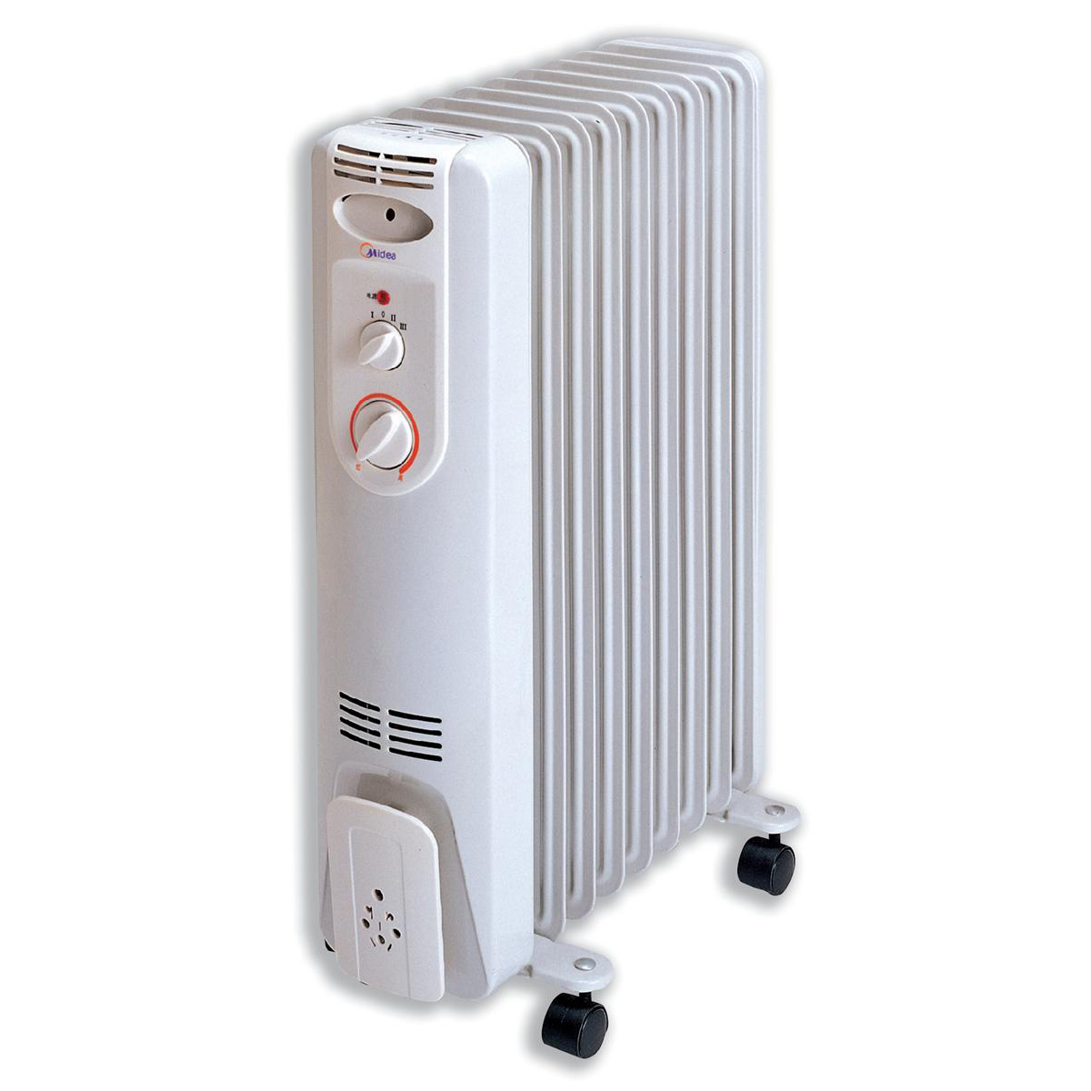 Image for Igenix 2kW Oil Filled Radiator White Ref IG2600