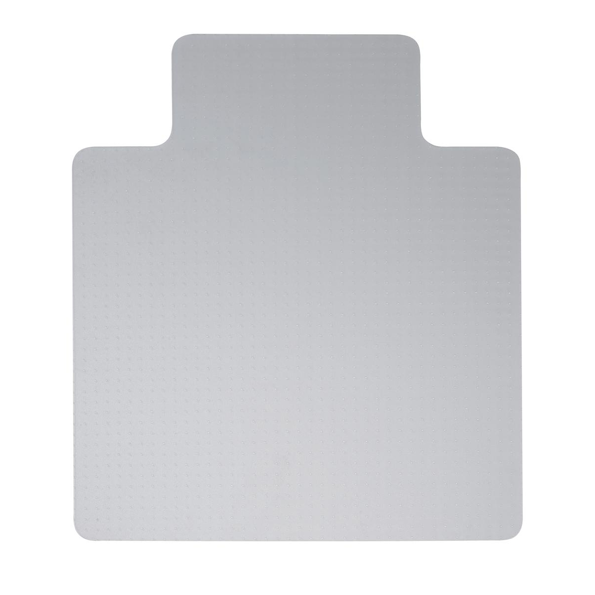 5 Star Office Chair Mat For Hard Floors PVC Lipped 900x1200mm Clear/Transparent
