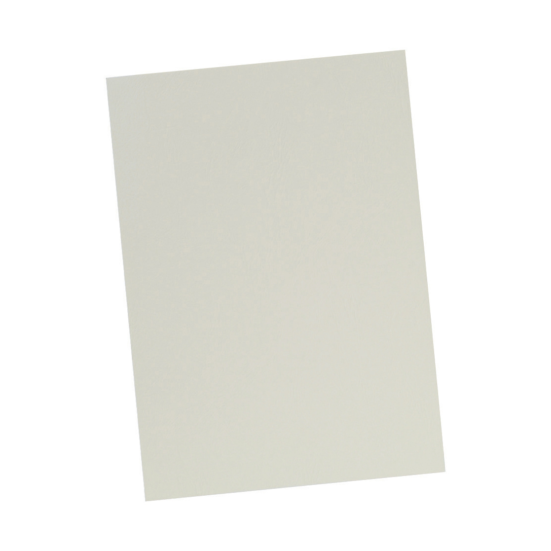 5 Star Office Binding Covers 240gsm Leathergrain A4 Ivory [Pack 100]