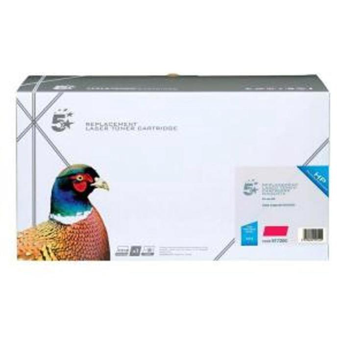 5 Star Office Remanufactured Laser Toner Cartridge Page Life 8000pp Magenta [HP 641A C9723A Alternative]