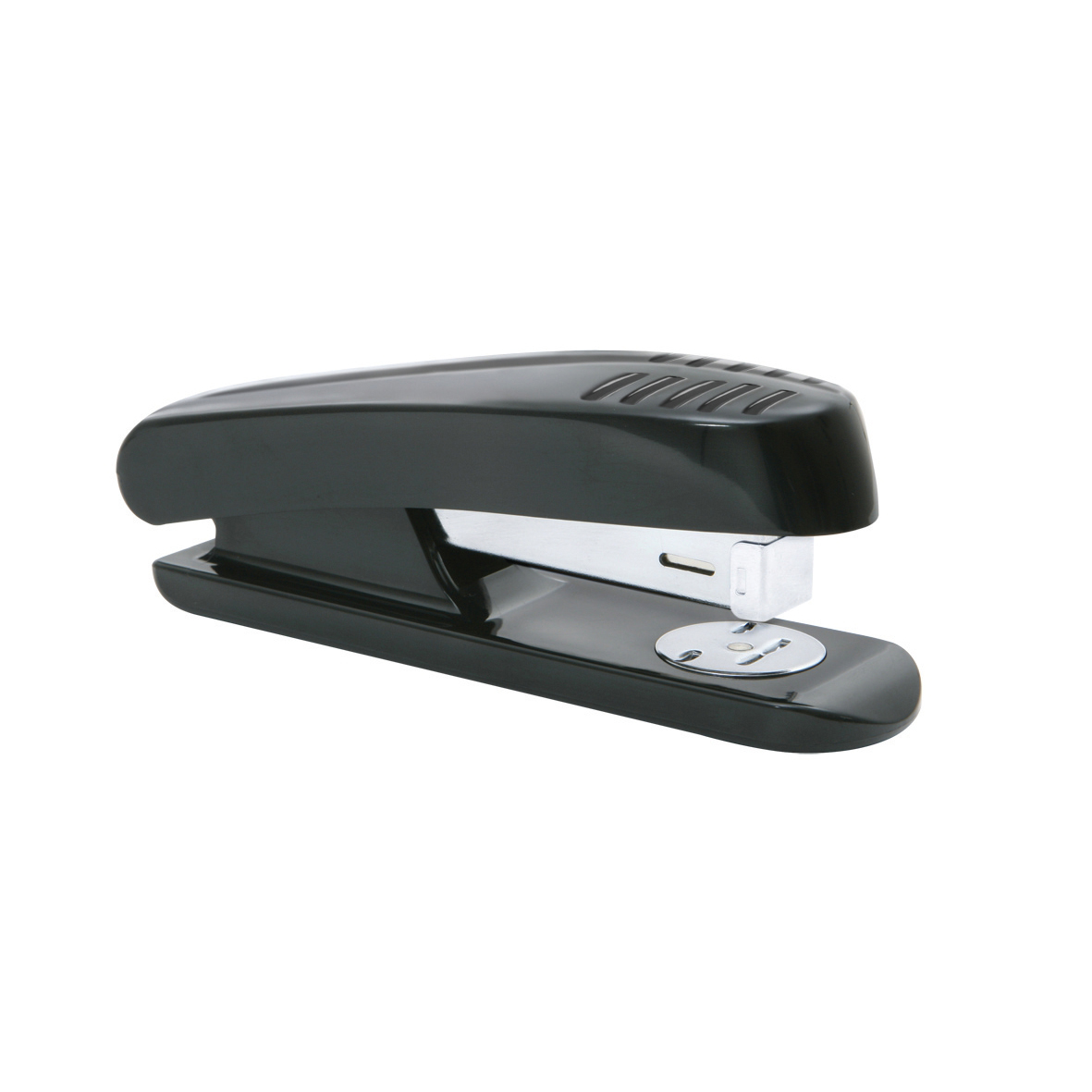 Long Arm Staplers 5 Star Office Stapler Half Strip Plastic Capacity 20 Sheets Black