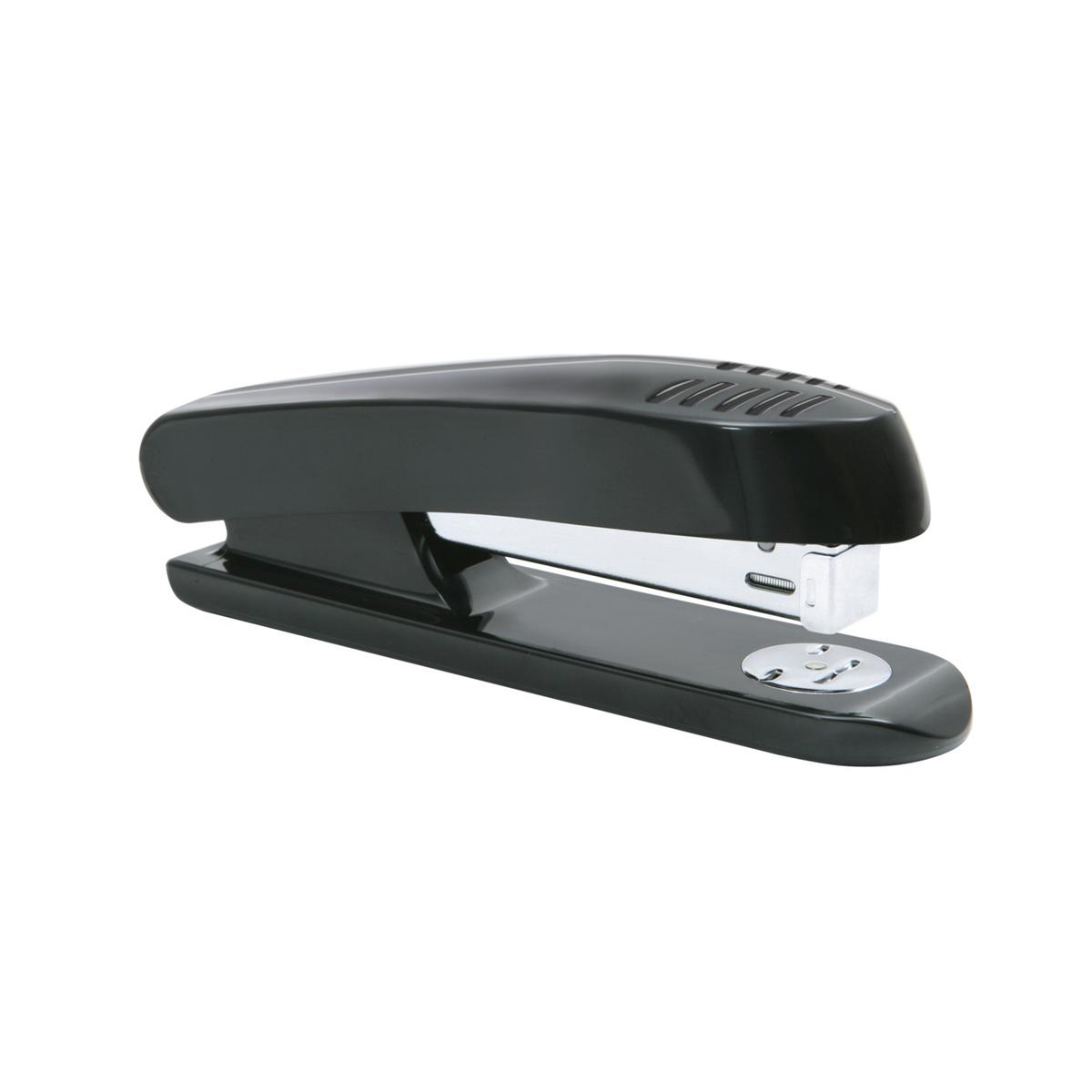Long Arm Staplers 5 Star Office Stapler Full Strip Plastic Capacity 20 Sheets Black