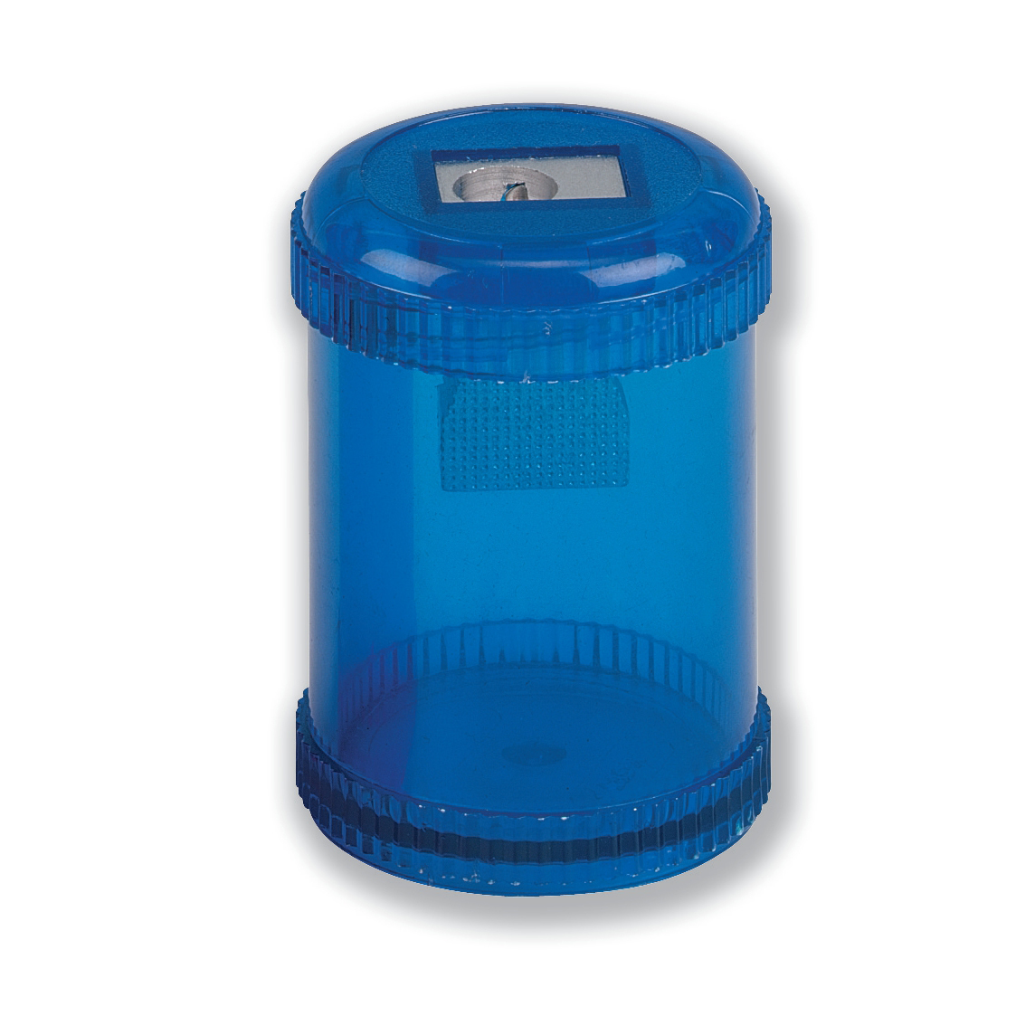 Sharpeners 5 Star Office Pencil Sharpener Plastic Canister One Hole Max. Diameter 8mm Blue