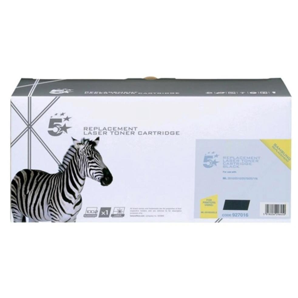 5 Star Office Remanufactured Laser Toner Cartridge Page Life 3000pp Black [Samsung ML-2010D3 Alternative]